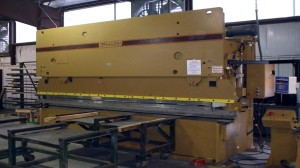 "Our 14-Foot x 1/4 "" Press Break"