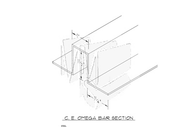 CE Omega Bar Section