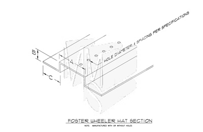 Foster Wheeler Punched Hat