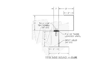 MMS 500 Sound H-Bar
