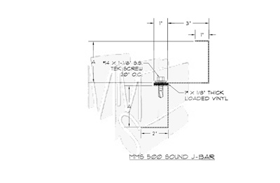 MMS 500 Sound J Bar